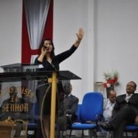 """Mara participa do Culto de encerramento da campanha """"O melhor de Deus está por vir"""""""